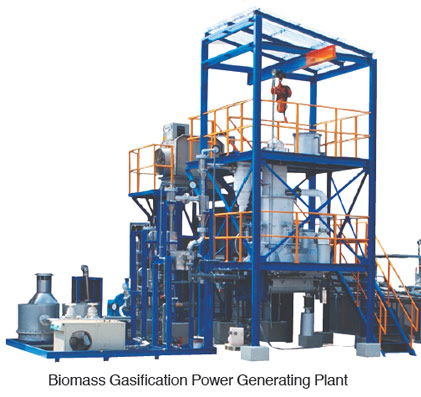Biomass Gasification Power Generating Plant